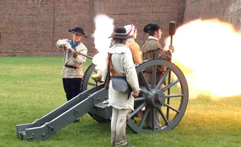 Artillery at Fort Pitt