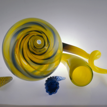 Golden Spinner Group, by Kathleen Mulcahy, Oakdale, Pa., 1998