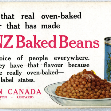Baked Beans Advertisement