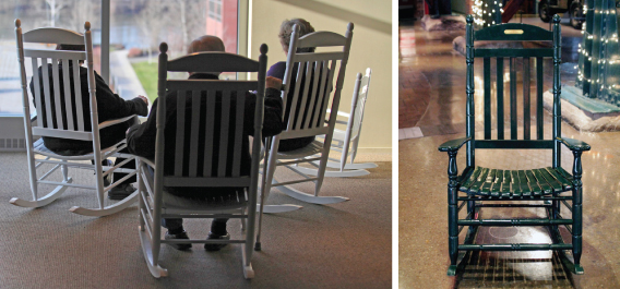 Commemorative Items - Rocking Chairs