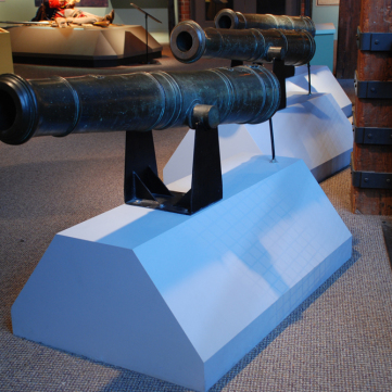Cannon from French and Indian War period, c. 1760