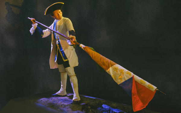 Life figure - French Officer - Clash of Empires