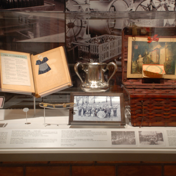Artifacts in the Heinz Exhibit
