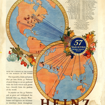 Heinz Global Reach Advertisement