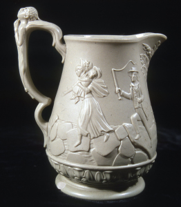 ALT:1853 English Stoneware with anti-slavery motif