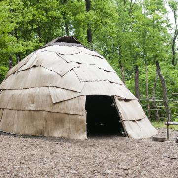 Wigwam, Meadowcroft Prehistoric Indian Village