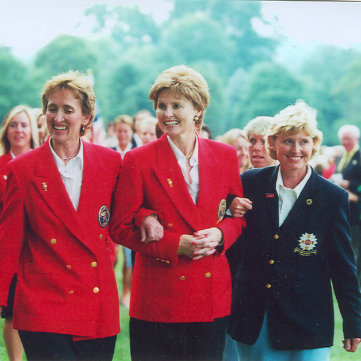 Curtis Cup Captain: Judy Oliver