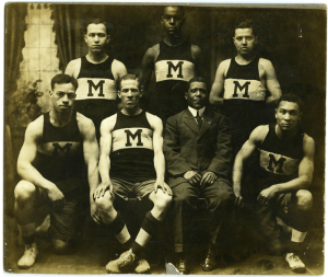 ALT:The Monticello Basketball team, c. 1911-1913