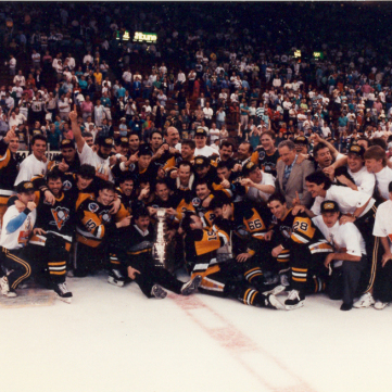 1990-91 Stanley Cup Champions