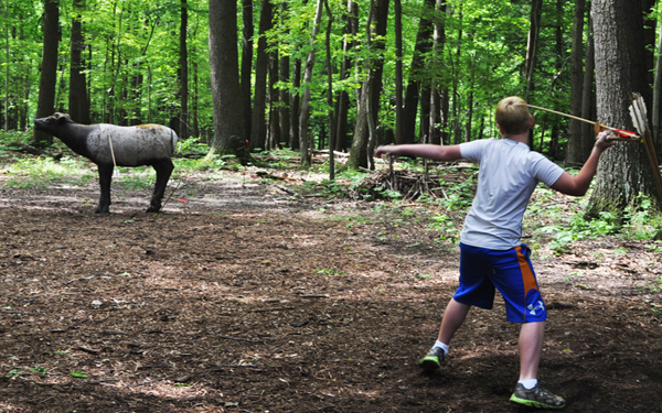Atlatl Throwing at Meadowcroft