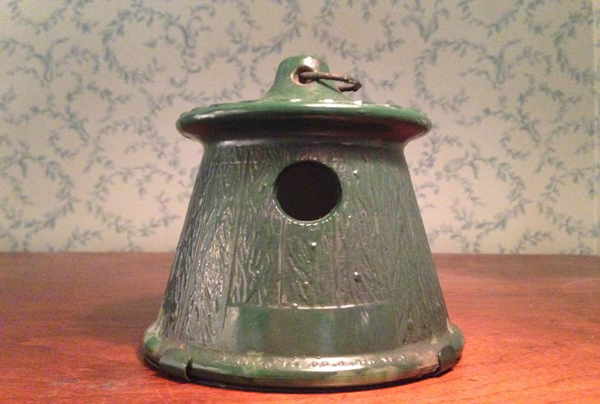 Glass Birdhouse, c. 1950
