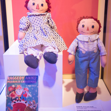 Raggedy Ann & Andy | Toys of the '50s, '60s and '70s exhibit at the Heinz History Center