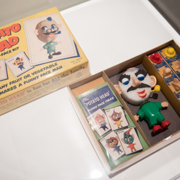 Mr. Potato Head Funny-Face Kit | Toys of the '50s, '60s and '70s exhibit at the Heinz History Center