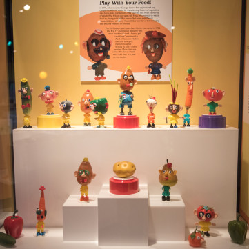 Mr. Potato Head, Hasbro, 1952. | Toys of the '50s, '60s and '70s exhibit at the Heinz History Center