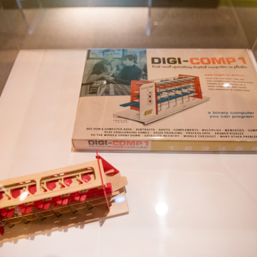 Digi-Comp toy computer, 1960s | Toys of the '50s, '60s and '70s exhibit at the Heinz History Center