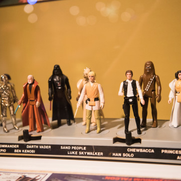 Star Wars Figurines| Toys of the '50s, '60s and '70s exhibit at the Heinz History Center