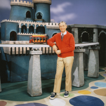 Mister Rogers King Friday's castle,