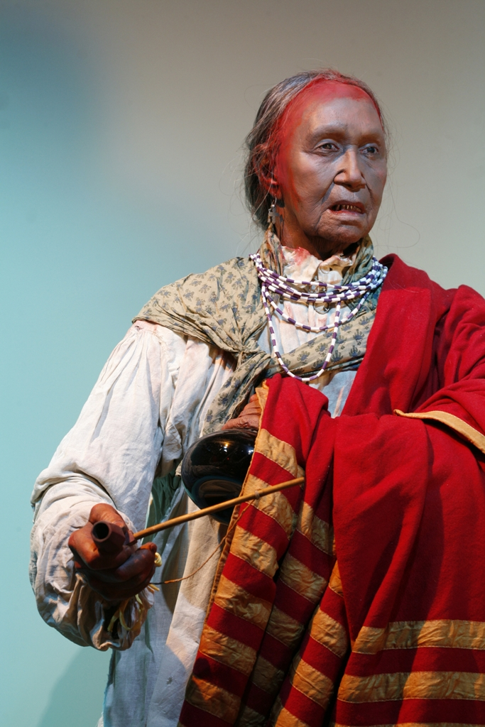 Queen Aliquippa life-like figure at the Heinz History Center