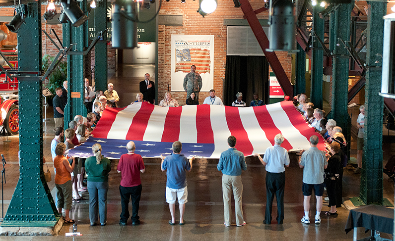 Flag Ceremony and Folding