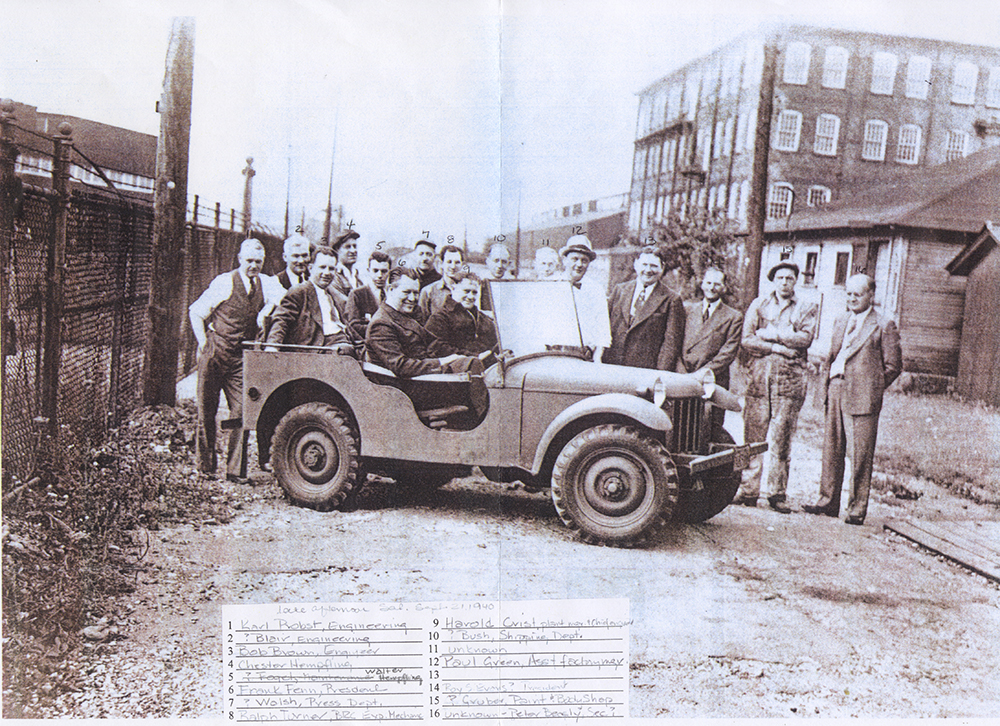 Birth of the Jeep, We Can Do It! WWII