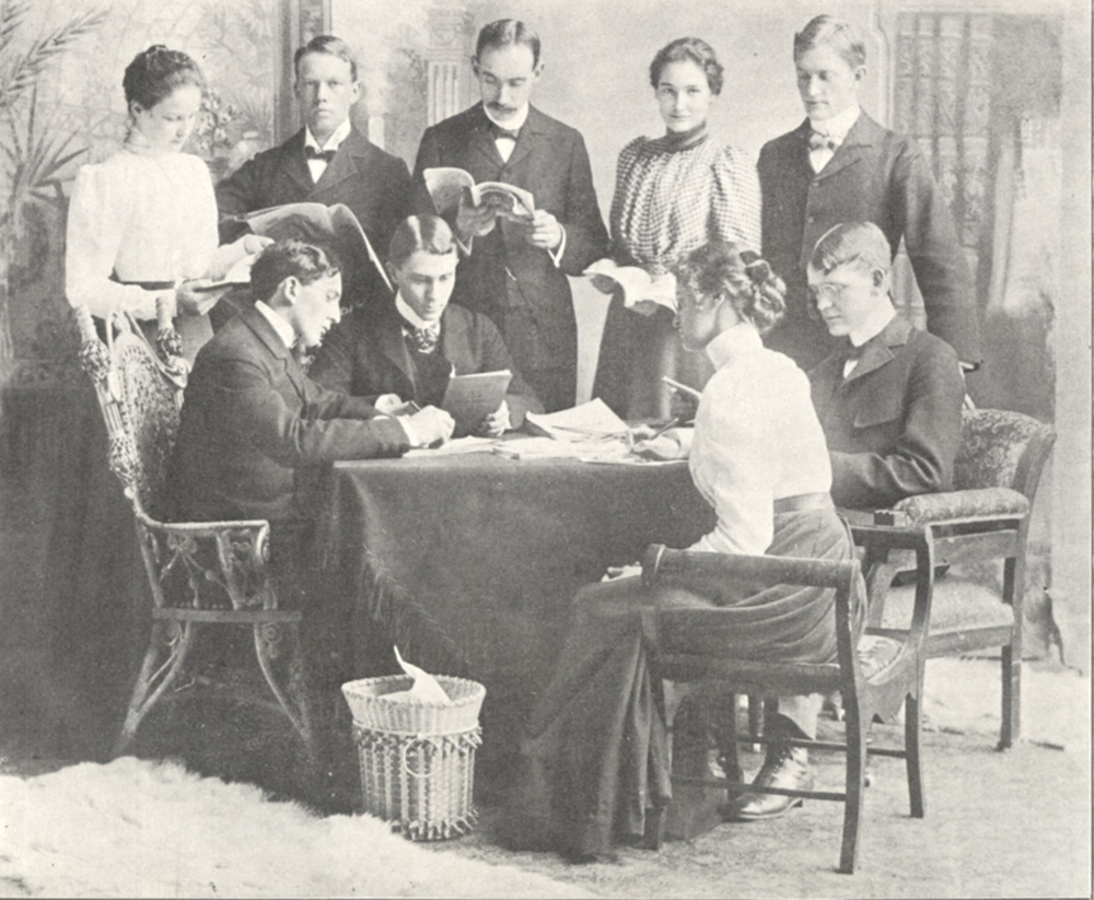 "Allegheny College ""Kaldron"" year book: 1899 Literary Committee"