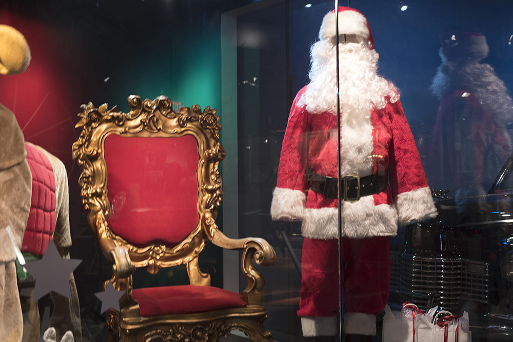 Kaufmann's Santa Land chair, part of the Kaufmann's/Macy's holiday window display in Special Collections.