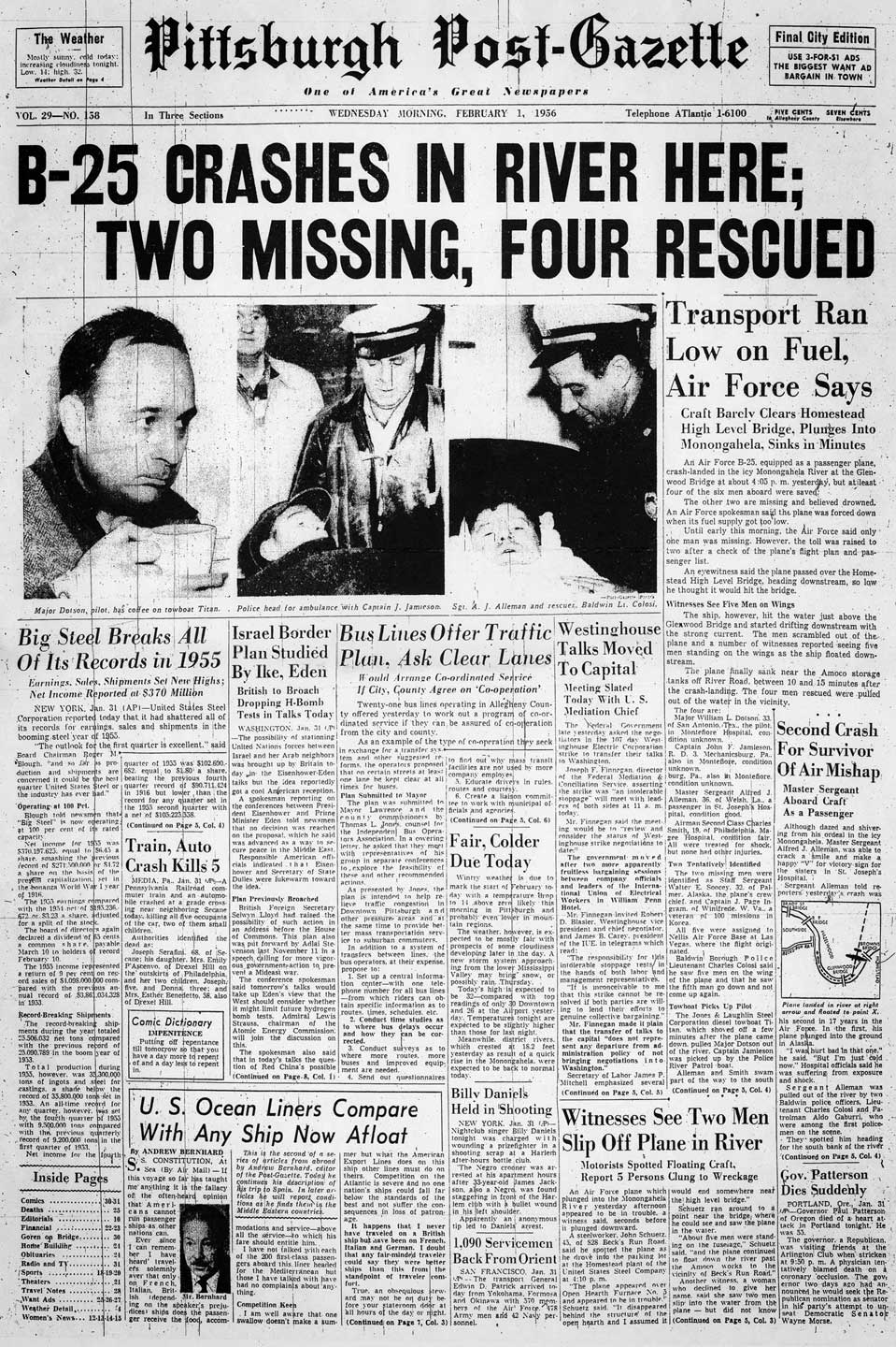 D-Day on Pittsburgh's front pages |Pittsburgh Post Gazette