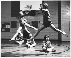 ALT:Physical Education class at John Minadeo Elementary School, 1958. Pittsburgh Public School Photographs, MSP 117, Detre Library & Archives, Heinz History Center