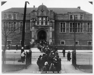 ALT:Homewood School, 1917. Pittsburgh Public School Photographs, MSP 117, Detre Library & Archives, Heinz History Center