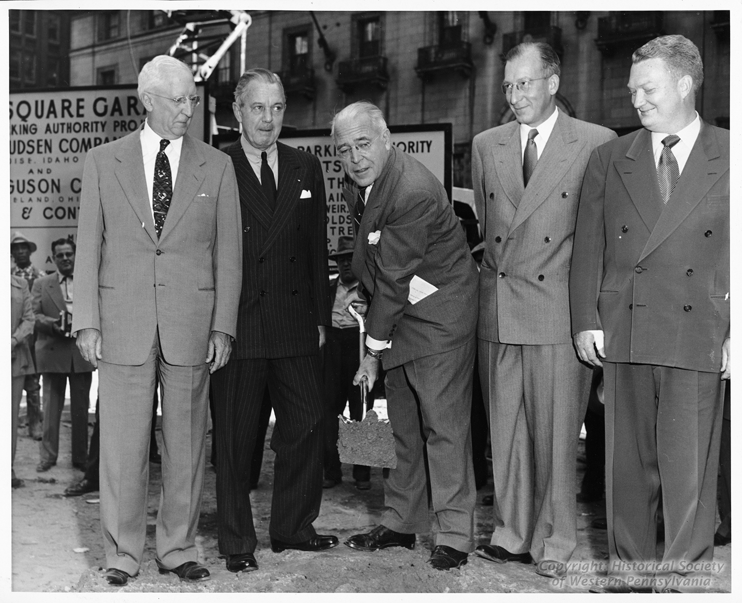 David Lawrence   Mayors of Pittsburgh   Heinz History Center Digital Collection