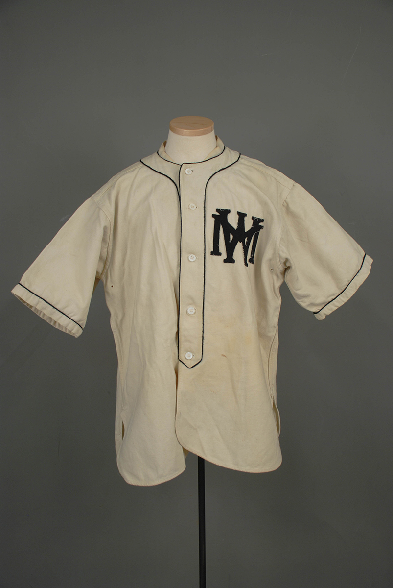 West Middletown baseball jersey from 1924.