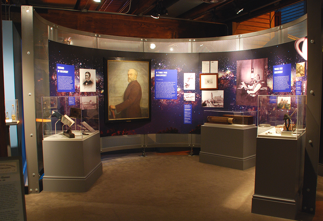 Astronomy display in the Pittsburgh: A Tradition of Innovation exhibit