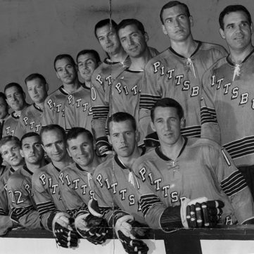 The First Penguins Team, October 1967 | 50 Years of Hockey in Pittsburgh | Heinz History Center