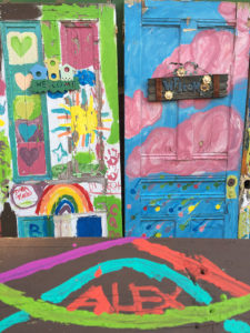 ALT:Doors at Randyland, summer 2016, Randyland in the North Side. | Your #Pixburgh Photo Album | #Pixburgh: A Photographic Experience