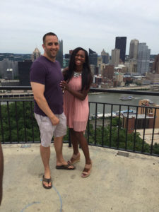 ALT:Delvina Smith and Chris Morrow, 2 July 2016, Mt. Washington. | Your #Pixburgh Photo Album | #Pixburgh: A Photographic Experience
