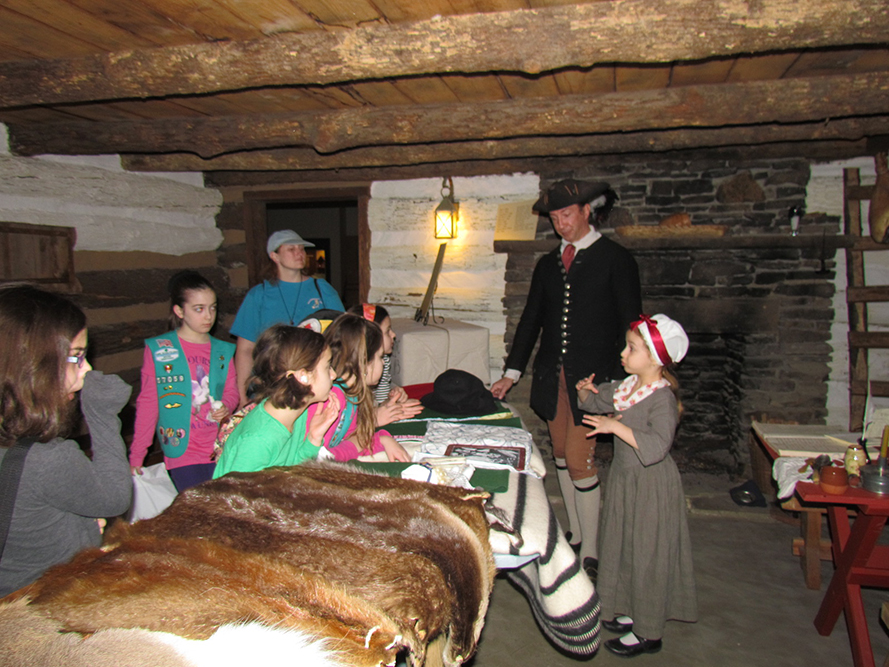 Frontier Women's Day at the Fort Pitt Museum