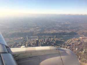 ALT:Returning to Pittsburgh on a United flight to Pittsburgh International Airport, Nov. 27, 2016. | Your #Pixburgh Photo Album | #Pixburgh: A Photographic Experience