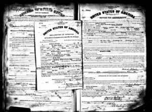 ALT:Michael Stabryla's naturalization documents from the Pittsburgh Federal Court. | Your #Pixburgh Photo Album | #Pixburgh: A Photographic Experience