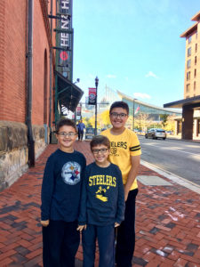 ALT:William, Peter and Chris Eliopoulos, fall 2016, Heinz History Center. | Your #Pixburgh Photo Album | #Pixburgh: A Photographic Experience