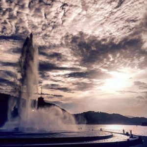 ALT:Point State Park at the fountain, summer 2016.| Your #Pixburgh Photo Album | #Pixburgh: A Photographic Experience