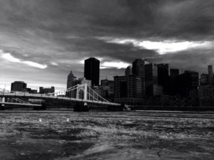ALT:Roberto Clemente Bridge from the North Side, January 2014. | Your #Pixburgh Photo Album | #Pixburgh: A Photographic Experience