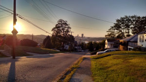 ALT:This photo was taken from the corner of Bigelow and Lydia Streets in Greenfield on September 23, 2015, 6:52 p.m. | Your #Pixburgh Photo Album | #Pixburgh: A Photographic Experience