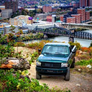 ALT:This is just a photo of my show truck up on Mt. Washington. It was taken towards the end of this fall at the Mt. Washington overlook. | Your #Pixburgh Photo Album | #Pixburgh: A Photographic Experience