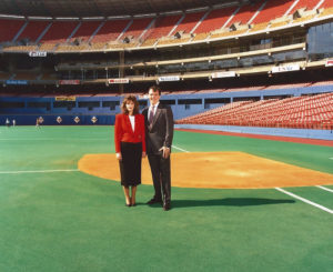 ALT:Mike and Mary Suley, the summer of 1990, Three Rivers Stadium. | Your #Pixburgh Photo Album | #Pixburgh: A Photographic Experience