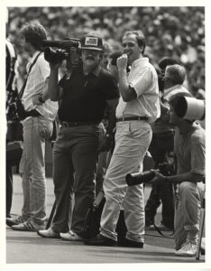 ALT:Pete Suenkonis & Jim Gregory, late 1980s at Three Rivers Stadium, Pittsburgh-Steelers game day! | Your #Pixburgh Photo Album | #Pixburgh: A Photographic Experience