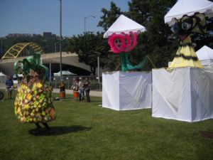 ALT:The puppers featured in the Community Puppet Pageant, created by artist Cheryl Capezzuti, June 5, 2011 , Point State Park - Three Rivers Arts Festival. | Your #Pixburgh Photo Album | #Pixburgh: A Photographic Experience