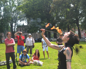 ALT:Lavinia, of Prof. Styles Miracle Elixir Side Show, July 11, 2015, Allegheny Cemetery in Lawrenceville. | Your #Pixburgh Photo Album | #Pixburgh: A Photographic Experience