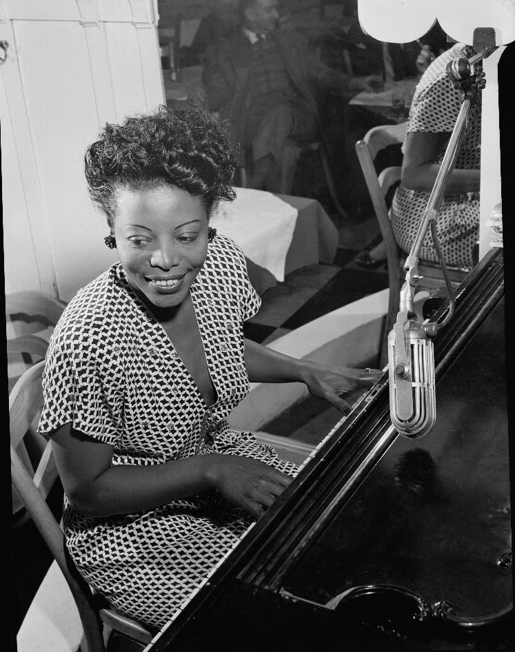 Mary Lou Williams, c. 1946 | Photo by William P. Gottlieb, courtesy of the Library of Congress.