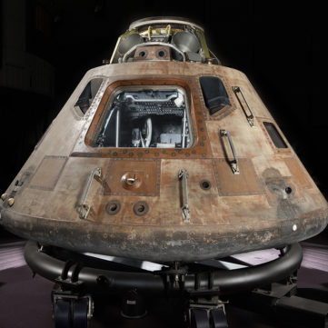 Apollo 11 command module Columbia | Destination Moon: The Apollo 11 Mission | Heinz History Center