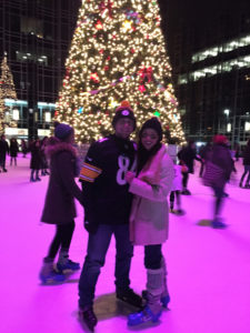 ALT:Michael Griffith and Joy Ponce - He proposed! December 25, 2016 at the Rink at PPG Place. | Your #Pixburgh Photo Album | #Pixburgh: A Photographic Experience